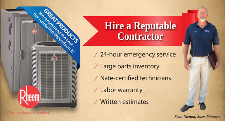 Choose a Reputable Contractor